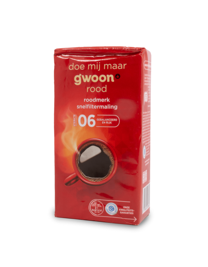 Gwoon Gwoon Red Quick Filter Coffee 250g