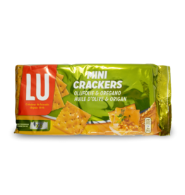 Lu Mini Crackers - Olive Oil & Oregano 250g