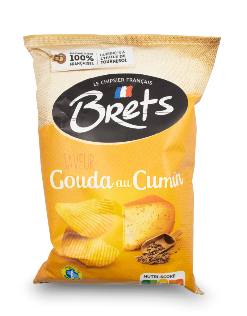 Bret's Bret's Gouda with Cumin Chips 125g