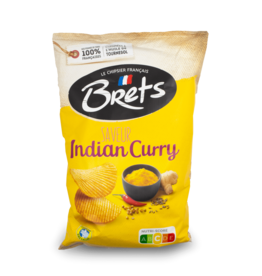Bret's Indian Curry Chips 125g