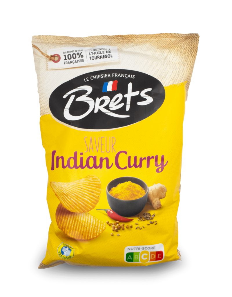 Bret's Bret's Indian Curry Chips 125g