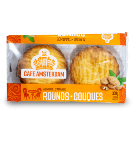 Cafe Amsterdam Almond Rounds 300g
