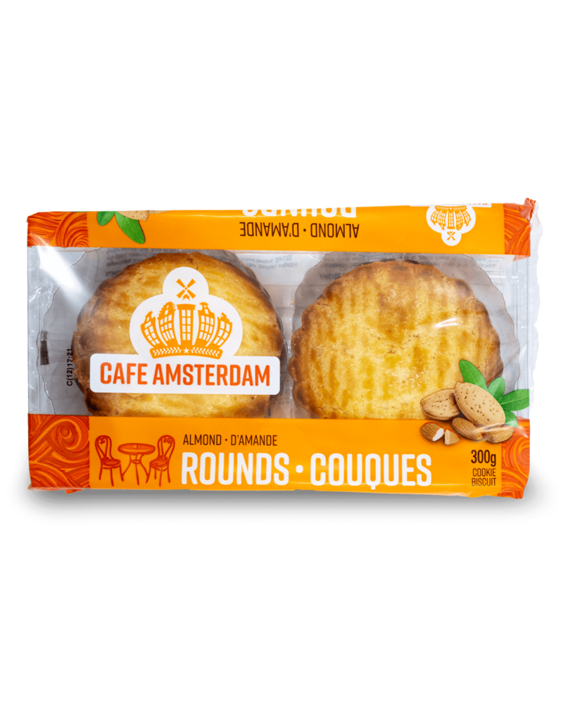 Cafe Amsterdam Cafe Amsterdam Almond Rounds 300g