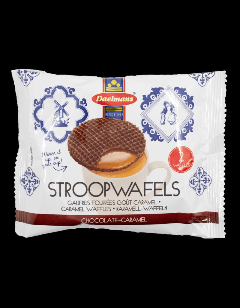 Daelmans Daelmans Chocolate Stroopwafels 2pk 72.5g