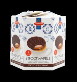 Daelmans Chocolate Stroopwafels Hex Box 8pk