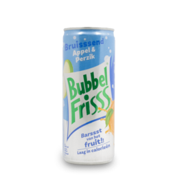 BubbelFrisss Apple Pear Soda 250ml