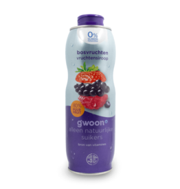 Gwoon Juice Syrup - Forest Fruit Sugar Free 750ml