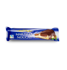 Maitre Truffout Chocolate Marzipan Nougat Bar 75g