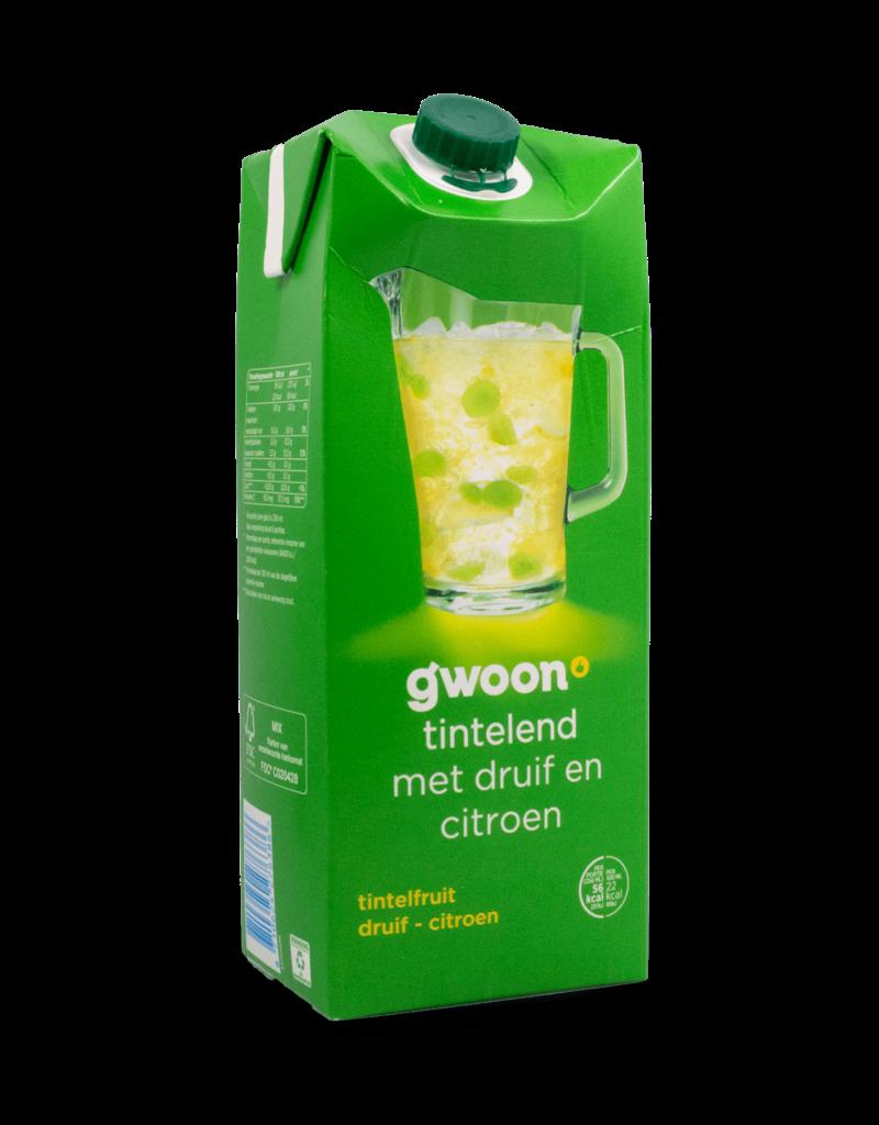 Gwoon Gwoon Grape Lemon Juice 1.5L