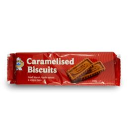 Pally Caramel Biscuits 260g