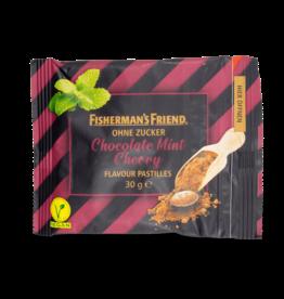 Fisherman's Friend Chocolate Mint Cherry Sugar Free 30g