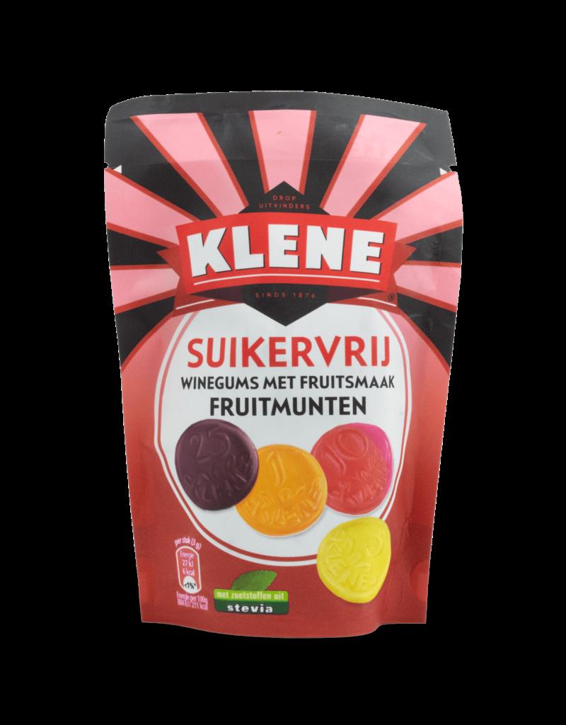 Klene Klene Sugar Free Fruit Coins 105g