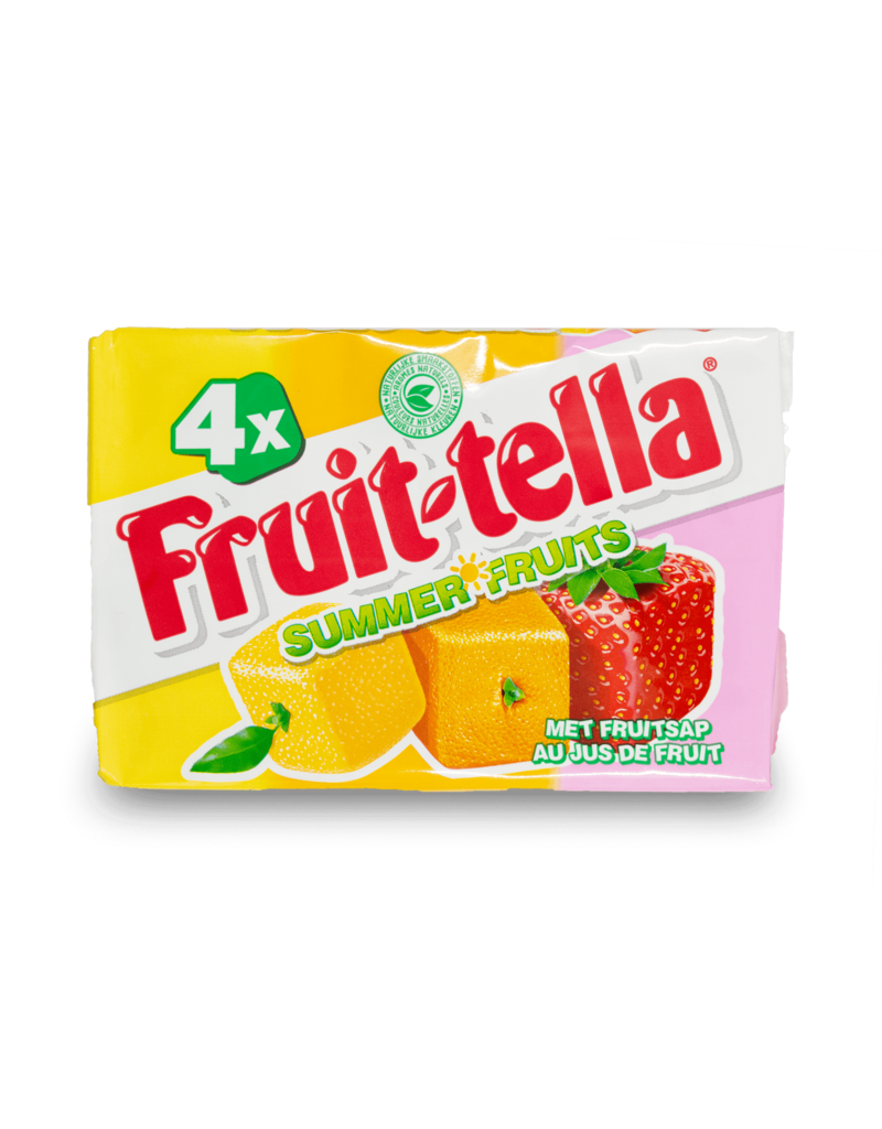 Fruittella Fruittella Summer Fruit 4pk