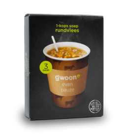 Gwoon One Cup Soup - Beef