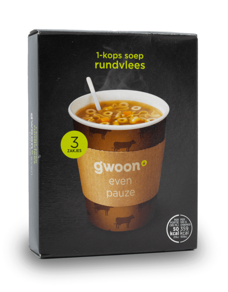 Gwoon Gwoon One Cup Soup - Beef