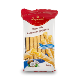 Imperial Wafer Rolls with Coconut 160g