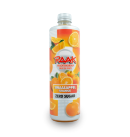 Raak Juice Syrup - Orange Sugar Free 750ml