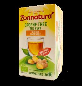 Zonnatura Ginger Green Tea 20x1.7g