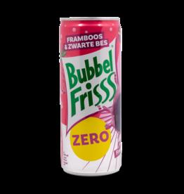 BubbelFrisss Strawberry Blackberry Sugar Free Soda 250ml