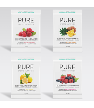 PURE SPORTS NUTRITION PURE - 42G SACHETS  (BOX OF 25)