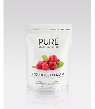 PURE SPORTS NUTRITION PURE - 500g RASPBERRY ENDURANCE FORMULA