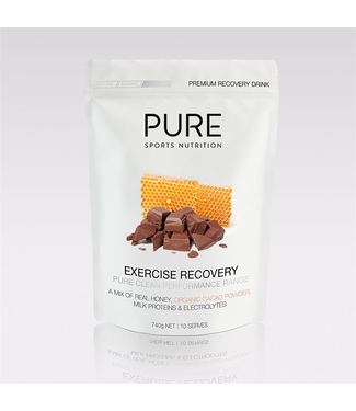 PURE SPORTS NUTRITION PURE - 740g EXERCISE RECOVERY ORGANIC CACAO & HONEY