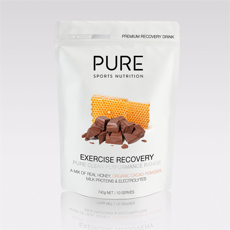 PURE - 740g EXERCISE RECOVERY ORGANIC CACAO & HONEY