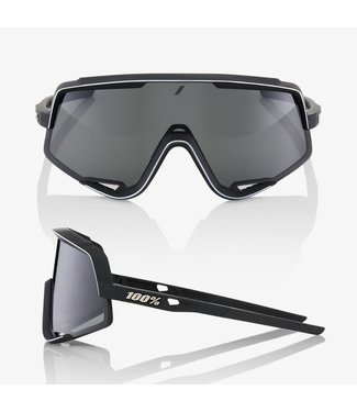 100% Glendale Soft Tact Black- Smoke Lens