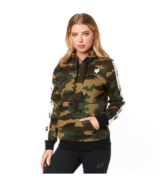 Fox WOMENS TEAM FOX CAMO PULLOVER HOODY