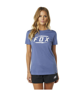 Fox WOMENS FOX BOLTED SS CREW [BLUE] M
