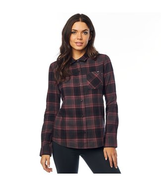 Fox WOMENS KICK IT LS FLANNEL SHIRT
