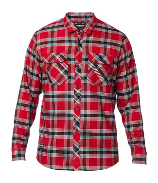 Fox FUSION TECH FLANNEL CARDINAL