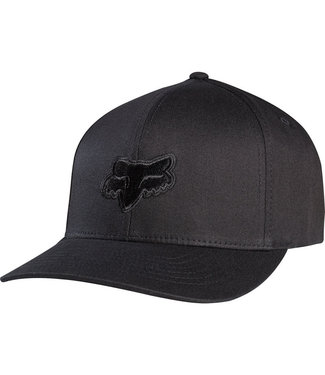 Fox LEGACY FLEX 45 FLEXFIT HAT BLACK/BLACK