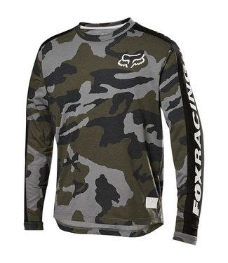 Fox YOUTH RANGER DR LS JERSEY