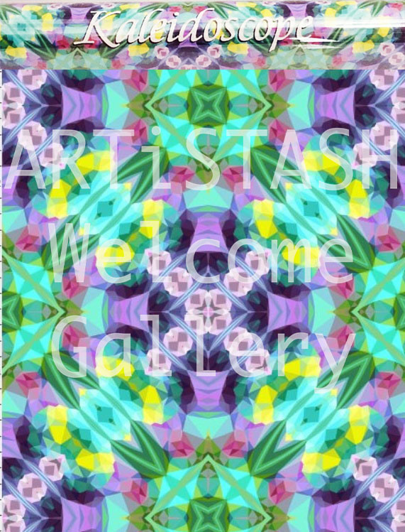 "Starshine Designs - Christy Gurley Gift Wrap - Kaleidopscope 26""x6"""