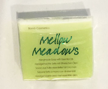 Bomb Cosmetics Soap Handmade Mellow Meadows with Essential Oils