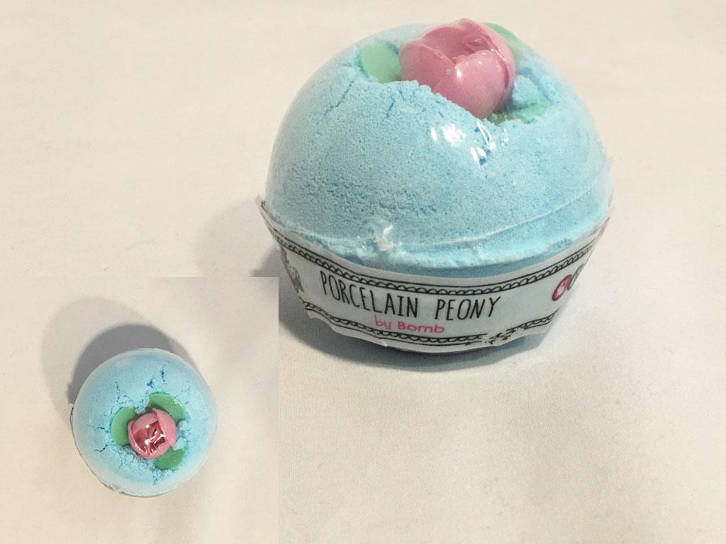 Bomb Cosmetics Bath Bomb Porcelain Peony Handmade