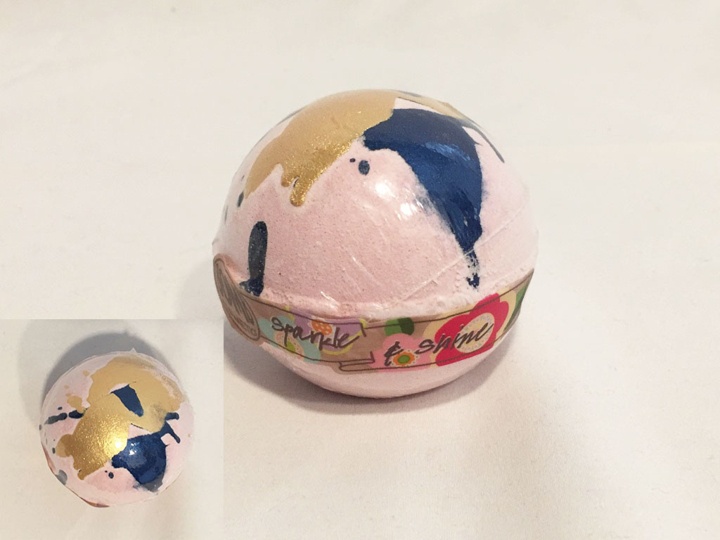 Bomb Cosmetics Bath Bomb Sparkle & Shine Handmade