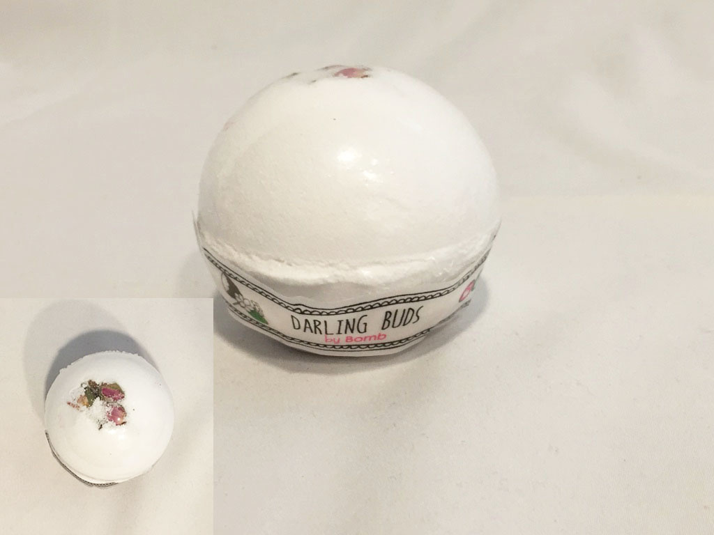 Bomb Cosmetics Bath Bomb Darling Buds Handmade