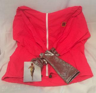 Sarah Vanderneut Eugene Vander Jacket Hot Pink