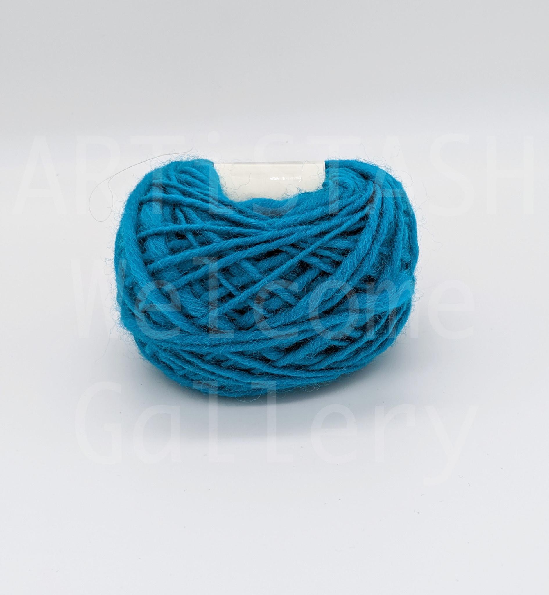 Just Sabine Hand Spun Yarn, Desert Turquoise, 28 Yards