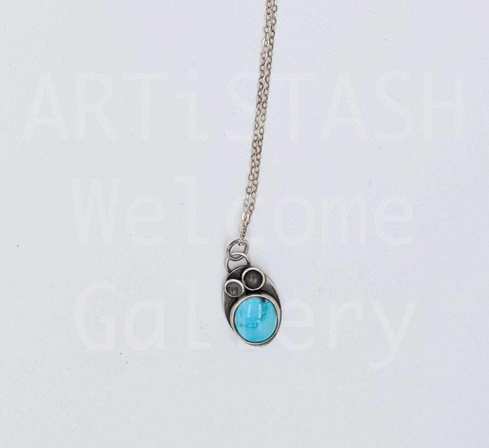 Sarilynn Studio Turquoise Ring Pendant