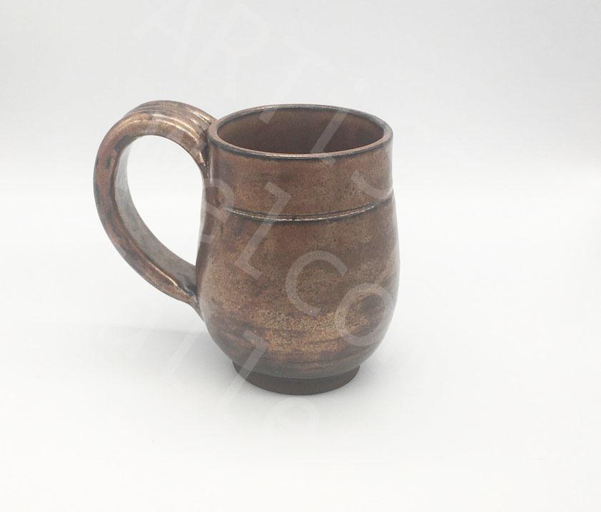 Sarah Ramirez Bronze Ceramic Mug