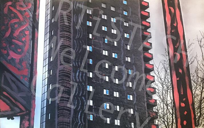 Michael Ray Yost Painted City Print