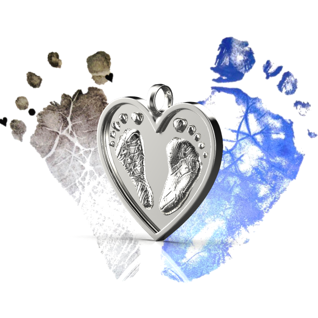 The Original Birthmarks The Original Birthmarks - Heart Necklace Sterling
