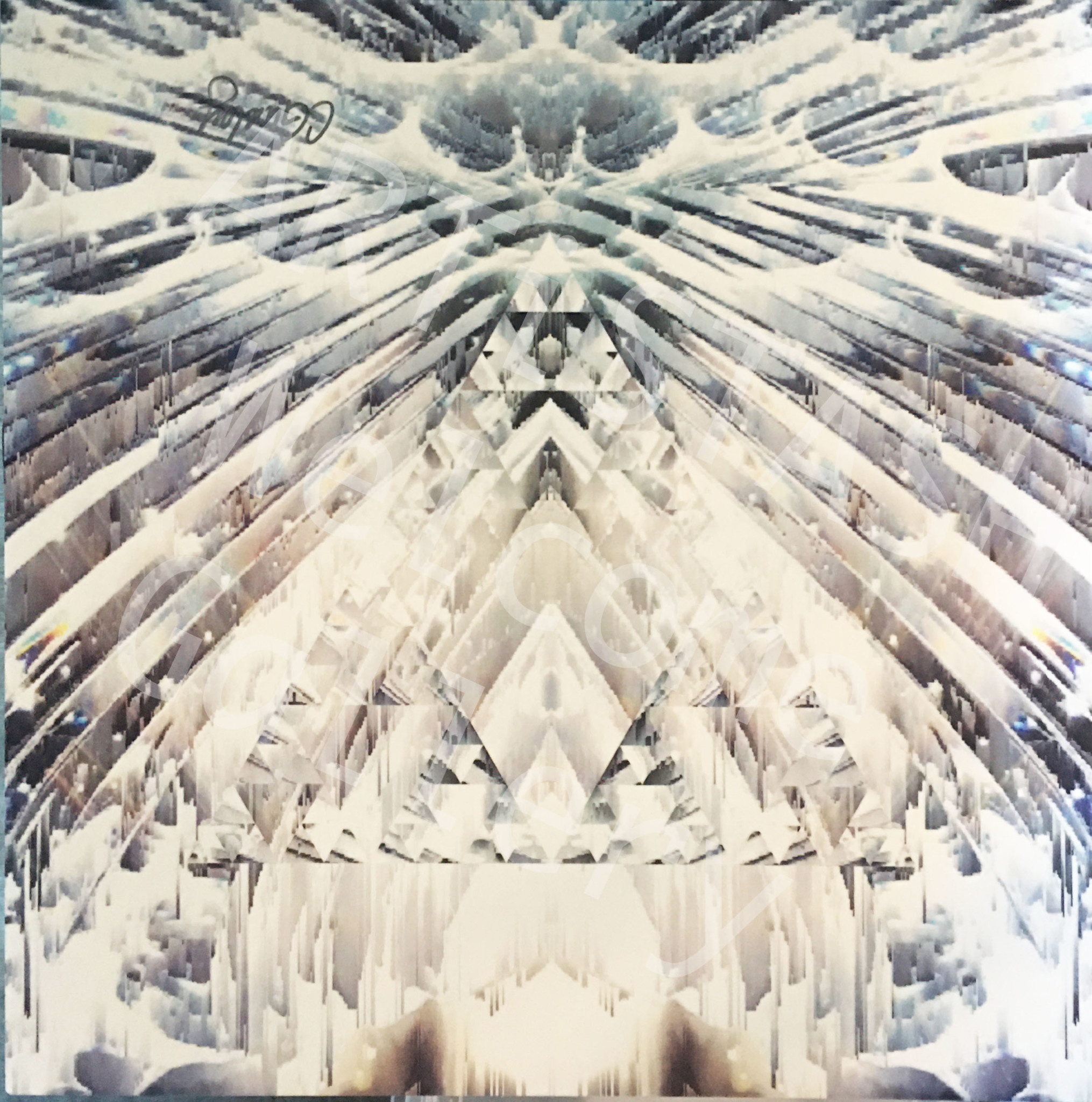 "Starshine Designs - Christy Gurley Metal Artwork - Ice Dreams 16"" x 16"""