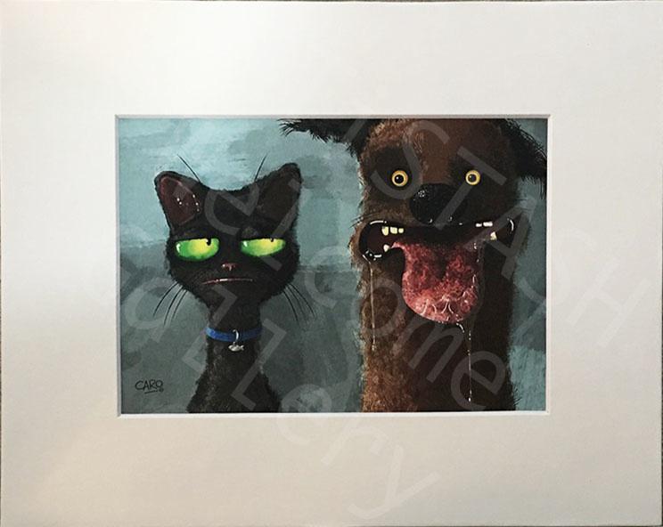 Caro Bernardini Cat/Dog 8x10 Print