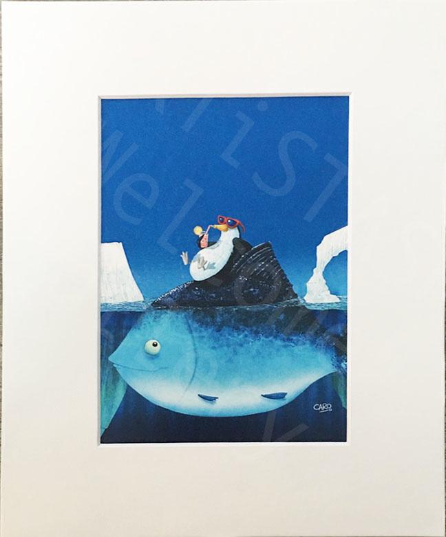 Caro Bernardini Sun Bathing 8x10 Print