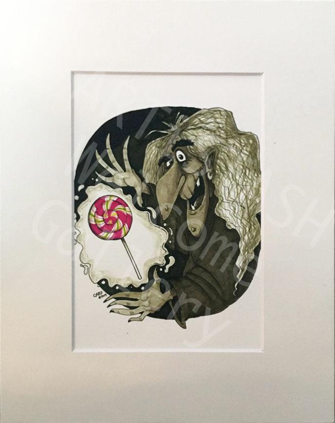 Caro Bernardini OG Witch 8x10 Print