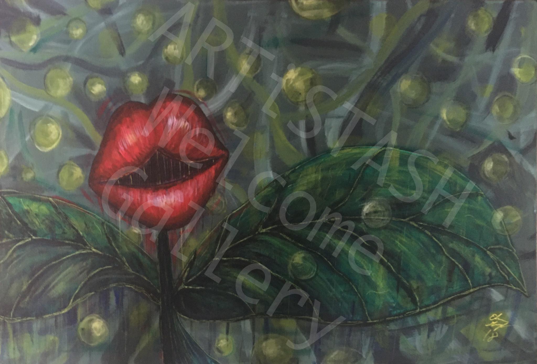 Elisa Groglio Floral Hellscape IV Print